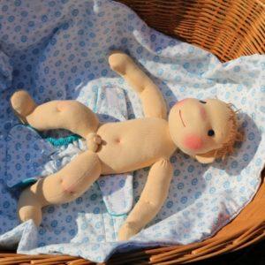 waldorfská panenka kluk