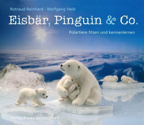 Kniha o mokrém plstění polárních zvířátek