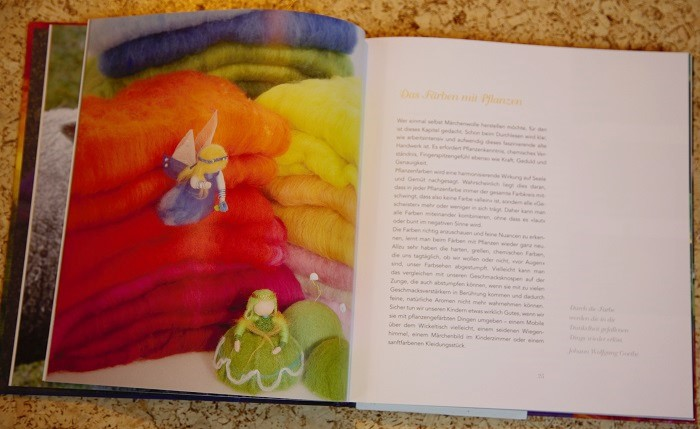 ukázka z knihy Märchenwolle a recenze na Ekopanenky