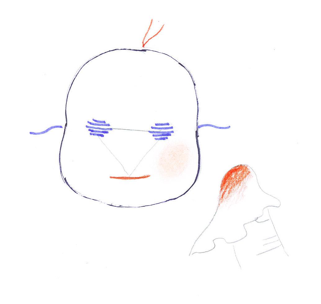 nabarvení tváří - ekopanenky