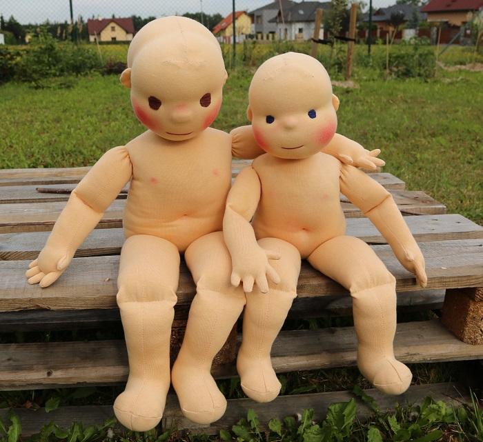 terapeutické panenky pro rehabiltace, ručně ušité