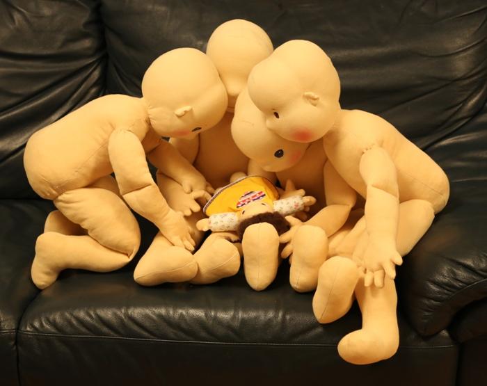 veliké panenky pro rehabiltaci Lentilka