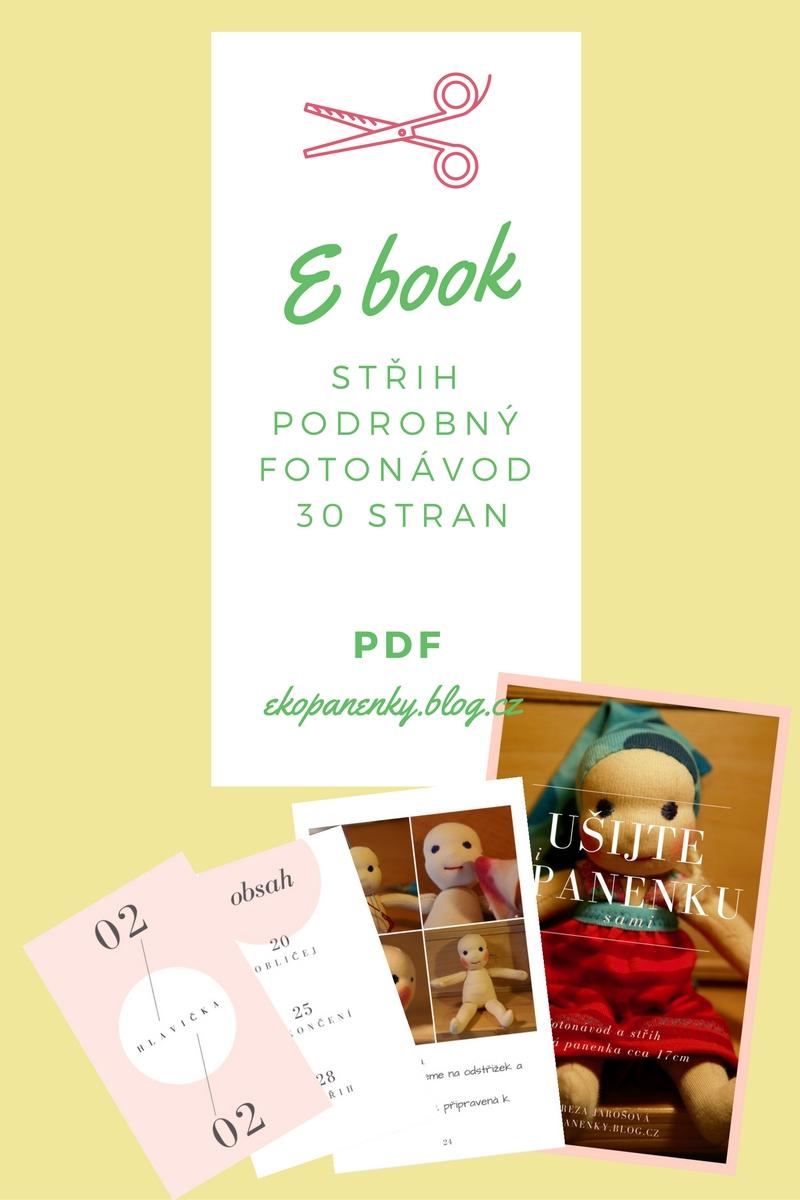 Ušijte si panenku sami, střih a pdf návod na waldorfskou panenku