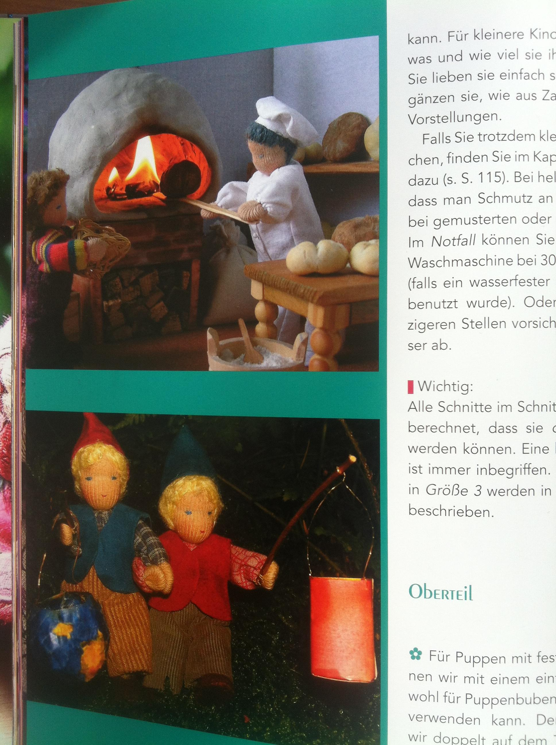 ukázka z knihy biegepüppchen selbst gemacht