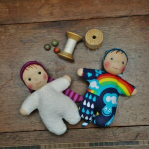 bio skřítci pro miminka, waldrofské panenky z přírodních materiálů, ekopanenky