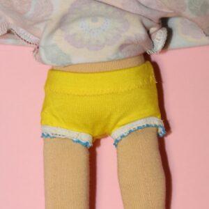 Spodní kalhotky pro panenku, ekopanenky