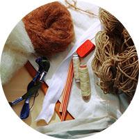 vlna, příze, bavlnka, nitě a tělový úplet