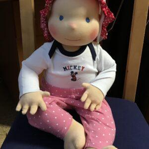 Demo panenka 60 cm. v dětském oblečení