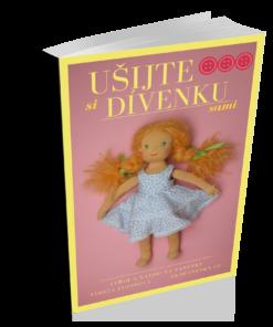 Ušijte si dívenku sami, střih pdf na látkovou panenku, ekopanenky.cz