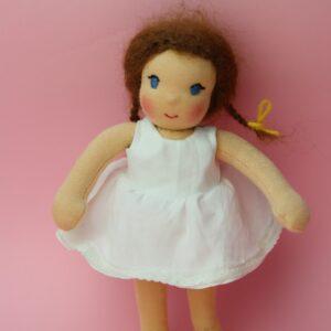 oblékací panenky, látková waldorfská panenka