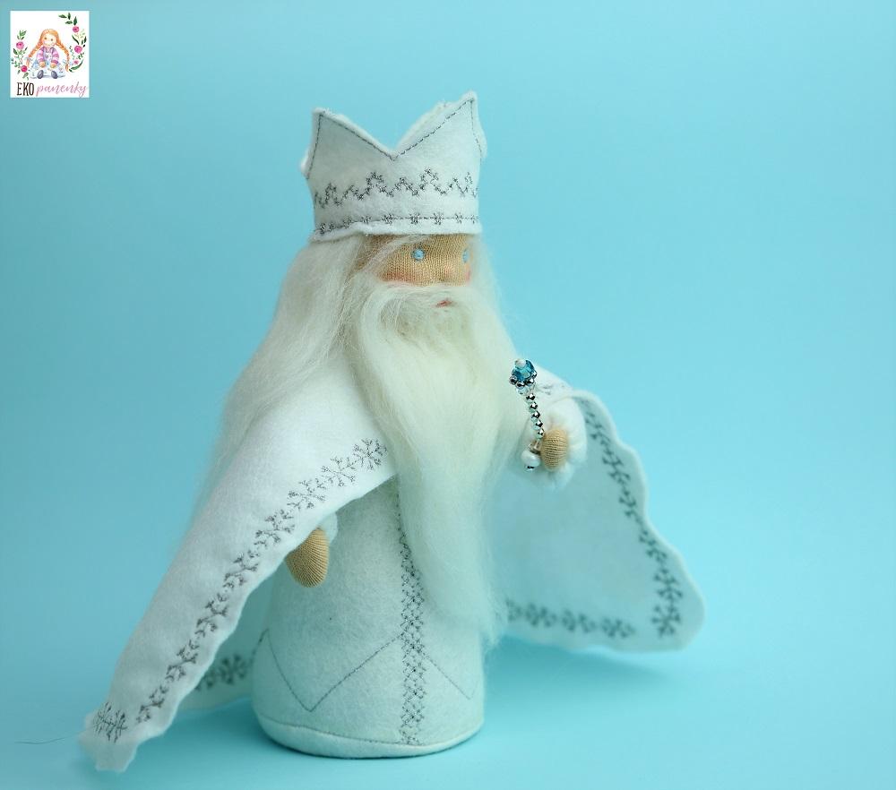 Zimní král, Waldorf, stolek ročních období, ekopanenky, panenky s duší