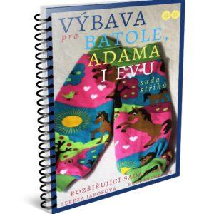 sada střihů pdf, oblečky, výbava pro batole, Adama i Evu, oblečky pro panenku