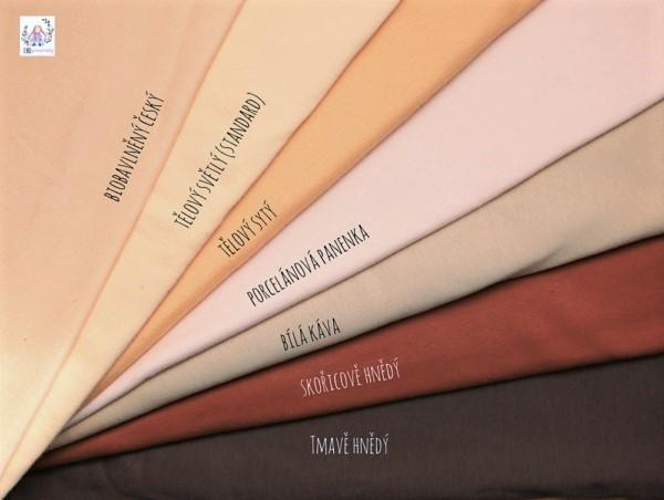 Barvy švýcarských tělových úpletů LY