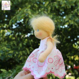 sladká panenka, ručně šitá panenka, ekopanenky