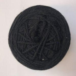 vlněná příze černá
