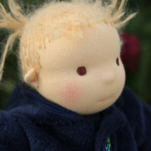 barva na tváře, panenka batole, látková panenka, látkové miminko, látkové mimino