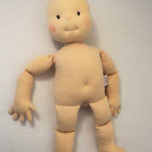 Fyziopanenka špunt, panenka 50 cm vysoká plněná umělým vláknem
