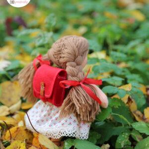Panenka pro radost, látková ručně šitá panenka, ekopanenky, panenky s duší, Tereza Jarošová
