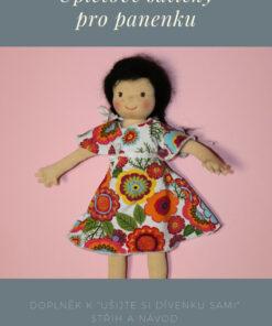 úpletové šatičky pro dívenku