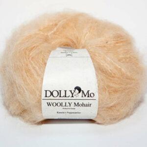 DollyMo, Woolly Mohair, strawberry blodne, mohérová příze na panenky, vlásky