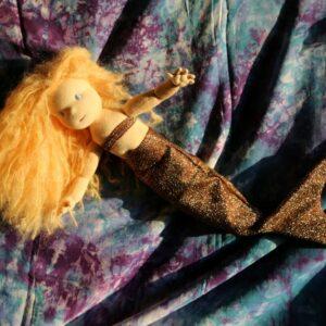 mořská panna - převlek pro panenku