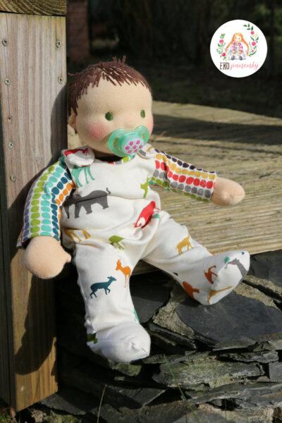 valentýnská láska, batolátko, které jsem si musela pořádně pochovat, látková panenka, waldorfská panenka, ekopanenky.cz