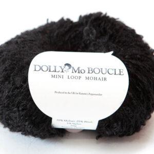 Dolly Mo Mini Loop Mohair Black