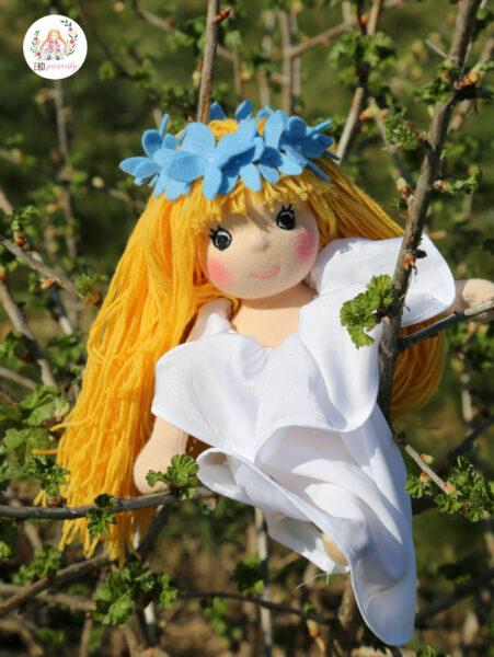 víla Amálka látková panenka plněná ovčí vlnou