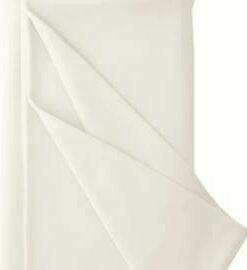 Panenkový úplet v přírodní režné barvě ecru, De Witte Engel T 100