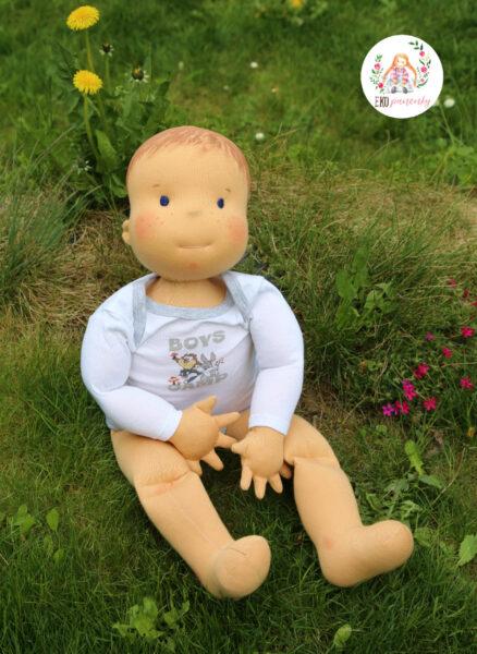 další fyziopanenka, 60 cm, panenka pro fyzioterapeuty, ekopanenky