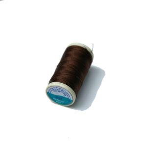 Nylbond tmavá čokoláda, velmi pevná nylonová nit