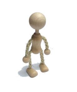 dřevěná postavička