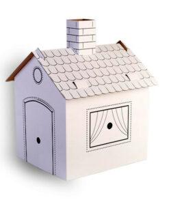 Domeček pro panenky z papíru